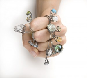 Prong Series Rings