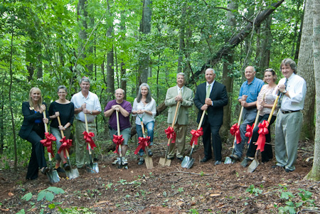 Penland groundbreaking ceremony