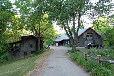 The Barns studios at Penland