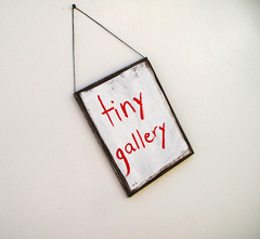 Margaret Couch Cogswell's Tiny Gallery