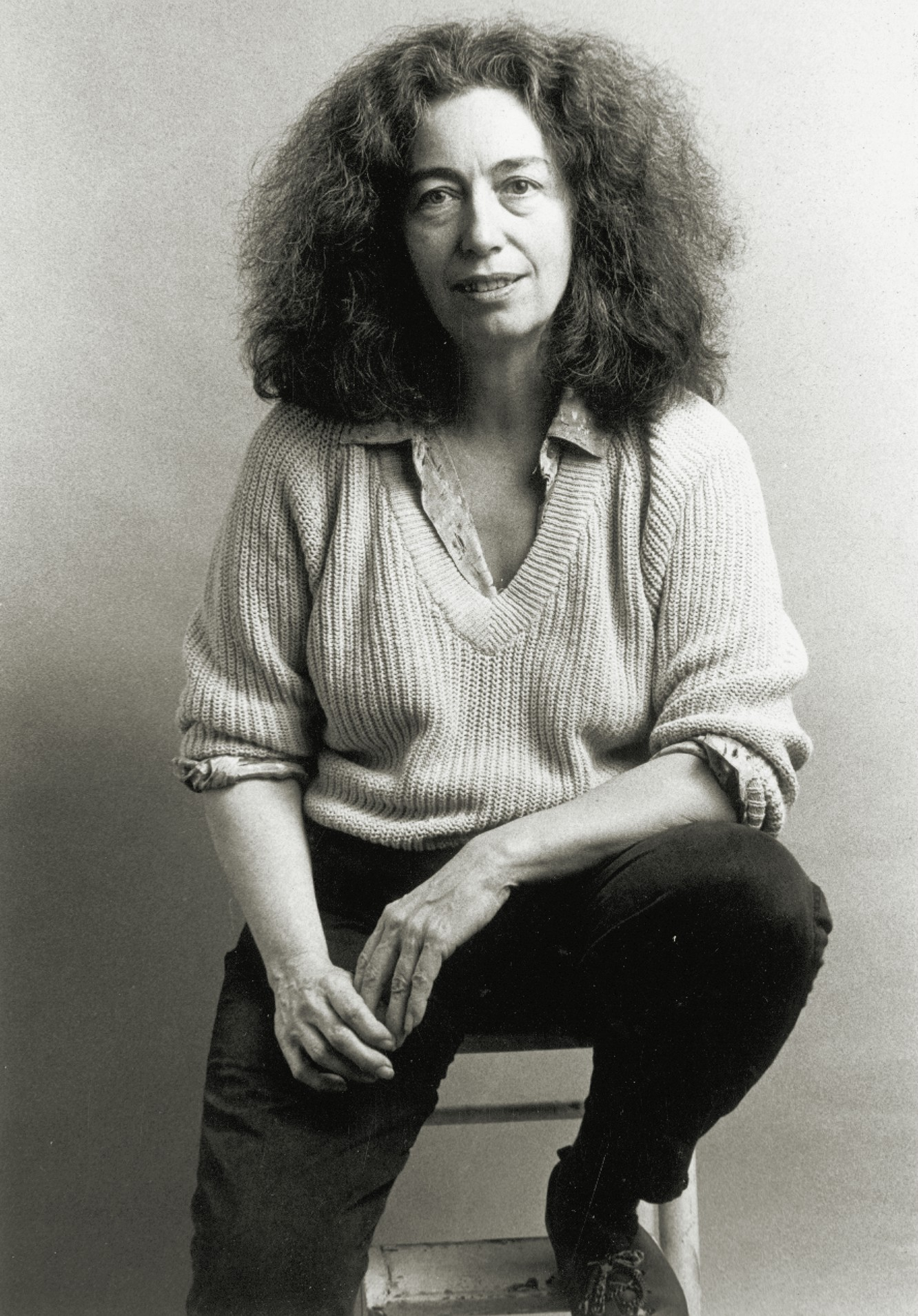Poet and sculptor Betty Oliver