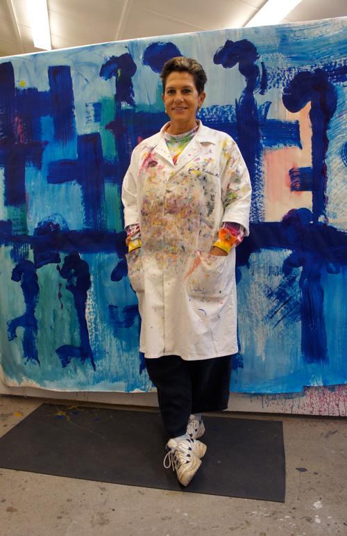 Alicia D. Keshishian at the instructor retreat.