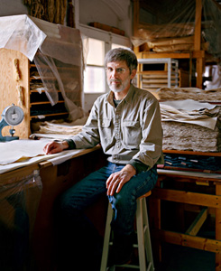 Timothy Barrett, photo by Samantha Contis for the New York Times