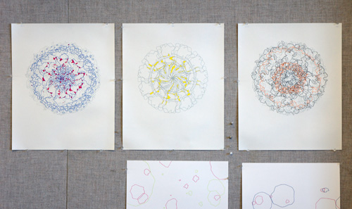 prints in progress by Erika Adams