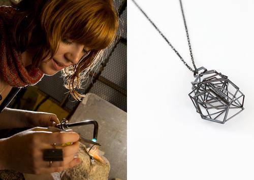 Sarah Loertscher jewelry