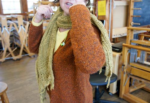 Nancy Ulliman's scarf