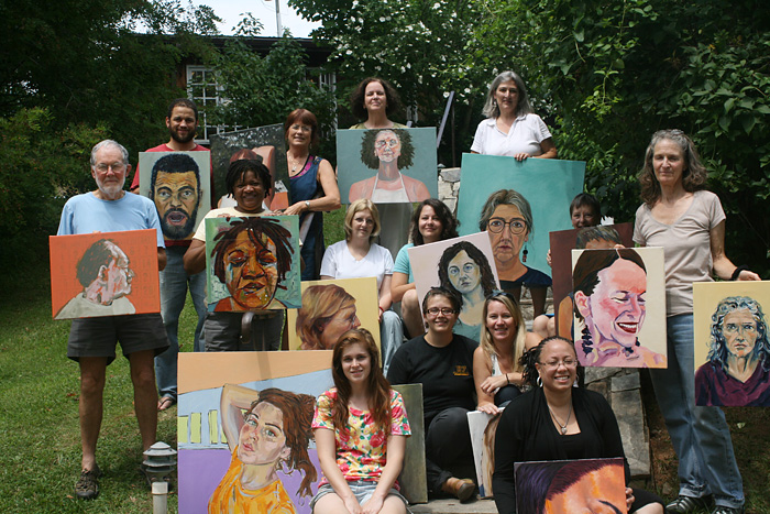 Self-portraiture class at Penland School