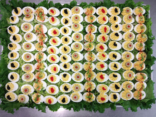 Penland kitchen deviled eggs