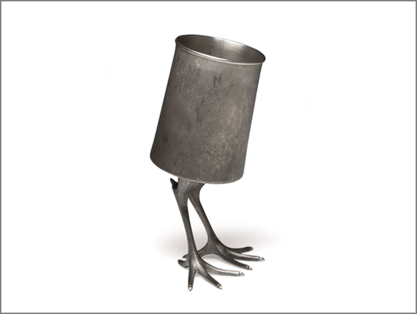 Jack Mauch, Tavern mug, 2012, pewter, 11 x 5 x 5 in. Photo: Jack Mauch