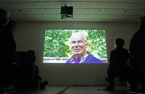 "Screening the film ""To Spring from the Hand: The Life and Work of Paulus Berensohn"" at Northlight."