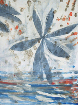 Memento /Jones Gap Monotype Chine Colle' Phil Garrett, Memento /Jones Gap Monotype Chine Colle' 2007 12 in by 10 in Image Size 21 by 17 in Paper Size