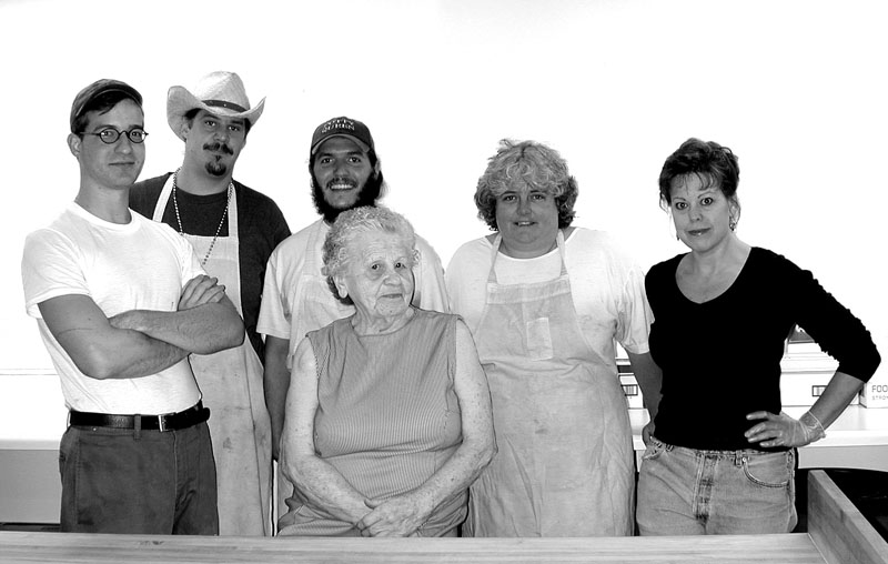 penland kitchen staff, 2002