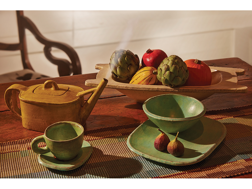 Tableware by Jospeh Pintz. Photo by Mark LaFavor for American Craft.