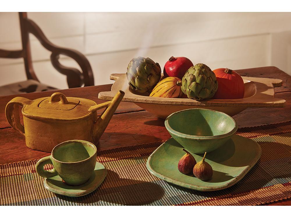 Tableware by Jospeh Pintz. Photo by Mark LaFavor for American Craft.